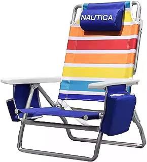 Nautica 5-Position Jumbo Beach Chair
