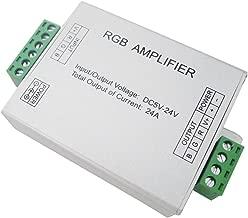 LEDENET Data Repeater RGB Signal Amplifier For SMD 3528 5050 LED Strip Light DC 5V 12V 24V 24A