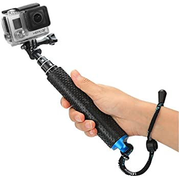 Navitech Waterproof Action Camera Floating Hand Tripod Mount /& Floating Handle Grip Compatible with The Olfi one.Five Action//Dash Camera