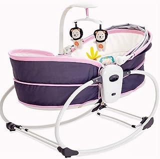 50eb414b6 GUOYUN Baby Bouncer Chair,5-in-1 Rocker Napper, Quick Installation,