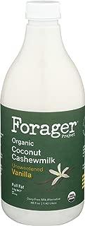 Forager Project, Organic Unsweetened Vanilla Coconut Cashewmilk, 48 Fl Oz