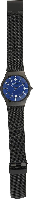 Skagen Mens Sundby Titanium and Stainless Steel Mesh Casual Quartz Watch