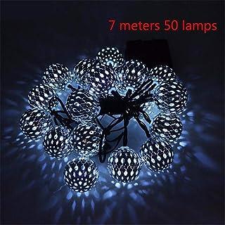 Led String Solar Lights 20/30/50 LED Round Ball Light Solar Lamp Power LED String Lights Solar Garlands Garden Decor for O...