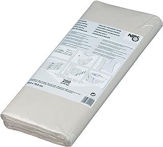 NIPS 118725201 PACKSEIDE 2,50 kg, Format: 50 x 75 cm, Inhalt: ca. 250 Bogen, grau