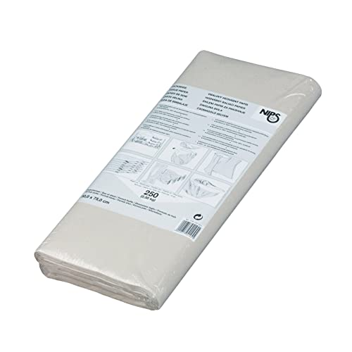 Nips 2.5Kg 50 x 75cm Recycled Tissue Paper for Packaging Filling or Interleaving - Grey (250 Sheets)