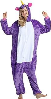 64a27d9930ccc Pyjama Licorne Enfant Onesies Combinaison Animaux Pyjamas Femme Homme Animé  Animal Costume Cosplay Hauteur de 90cm