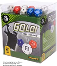 GOLO Golf Dice Game | For Golfers, Families, and Kids | Portable Fun Game for Home, Travel, Camping, Vacation, Beach | Awa...