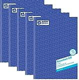 AVERY Zweckform 426 Kassenbuch (A4, nach Steuerschiene 300, 100 Blatt) weiß (5x Kassenbuch A4)