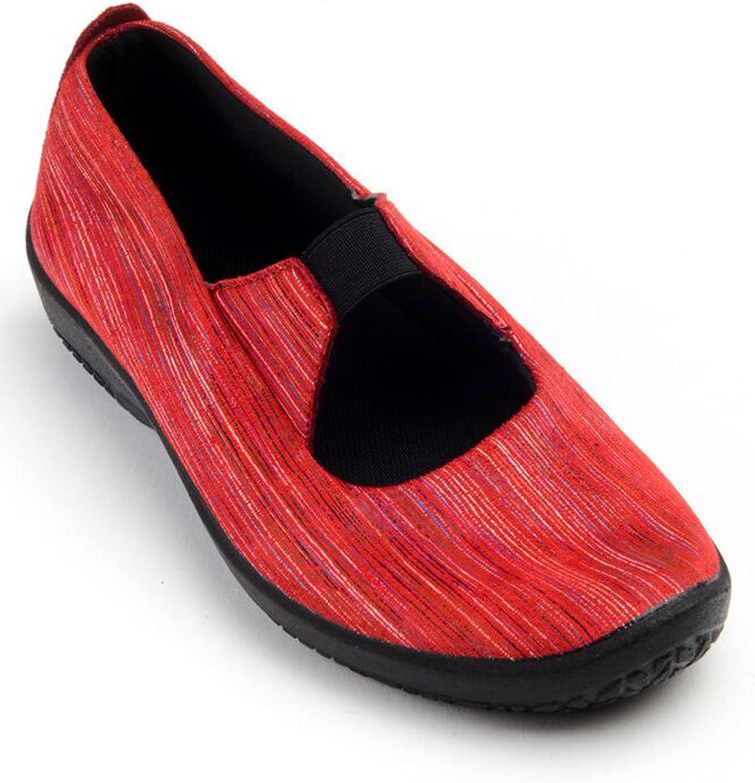 Arcopedico Women's Leina Red Sorrento Flats 41 M