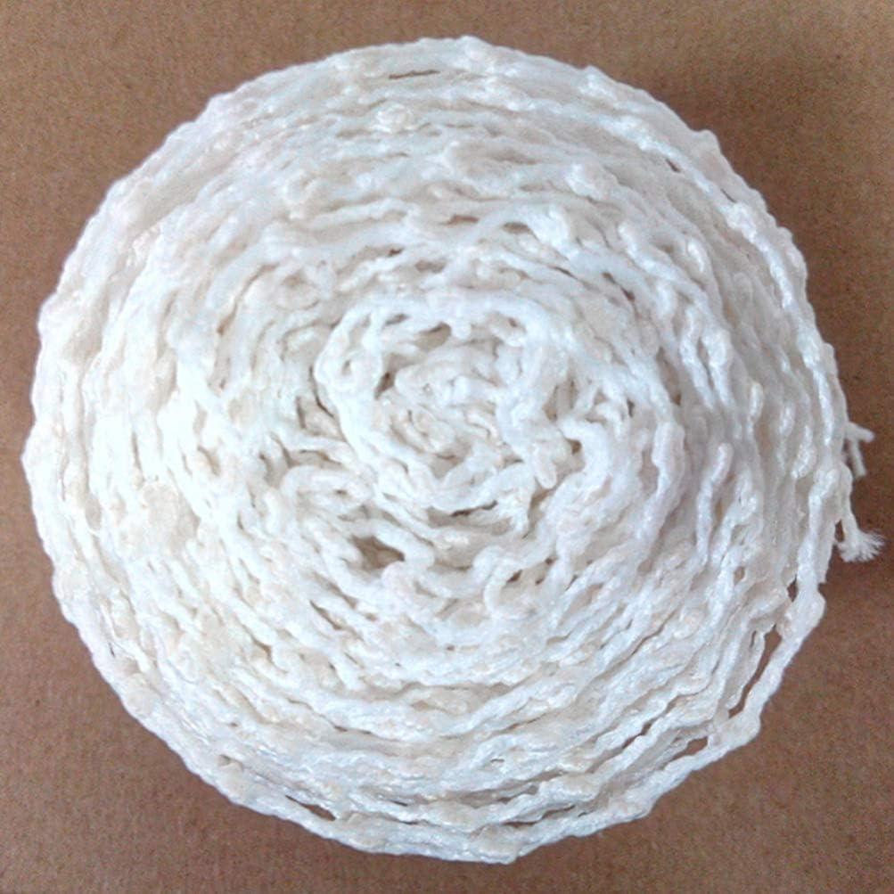 utensile da cucina rete per arrosti e prosciutto salsicce rete elastica per arrosti bianco prosciutto Cabilock rete in cotone ristorante 4 rotoli da cucina 100 x 10 cm
