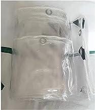 LHR Dekzeil Waterdicht Heavy Duty Outdoor Regendicht Dekzeildoek, 0.3mm Dikke Transparante PVC Zacht Glas Cover, Regendich...