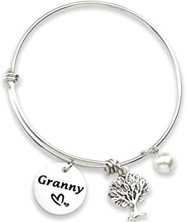 Hutimy الجدة هدايا سوار للنساء مجوهرات للجدة السوار أساور Jwelry أفضل هدية للجدة سوار