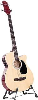 4 String Karrera Acoustic Bass Guitar Electric Pickup 5 Band Equalizer Natural