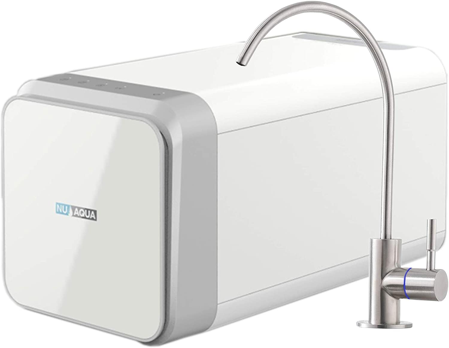 NU Aqua Efficiency Series 600 2021 Columbus Mall spring and summer new GPD Revers RO Direct Flow Tankless