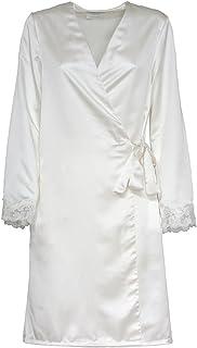 Toscana Lingerie Vestaglia Kimono per Sposa Fede Raso R442