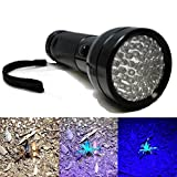 Versatile UV Blacklight Detection 51 LED Ultra Violet Mini Flashlight AA Torch Light Lamp Ensure Quick and Easy Spotting and Detecting