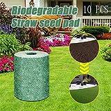 Biodegradable Grass Seed Mat Fertilizer Garden Picnic,Estera De Semillas De Hierba...