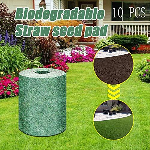 Biodegradable Grass Seed Mat Fertilizer Garden Picnic,Estera De Semillas De Hierba Biodegradable,Mantas...