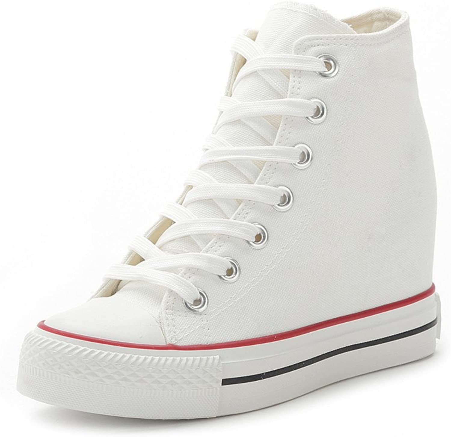 High canvas shoes Ms. wild casual high-top shoes