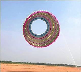 YSVSPRF drake 10 m stor ring drake drake flygande regnbåge drakar vuxen drake festival display drake fabrik utomhusleksaker