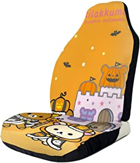 RachelReichert Rilakkuma Crazy Car Seat Cover, Car Interior Car Seat Cover for Most Cars, Cars, SUVs, Vans1 PCS