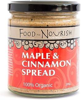 Food to Nourish Food to Nourish Organic Maple and Cinnamon Spread 225 g