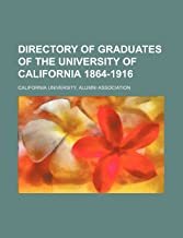 Directory of Graduates of the University