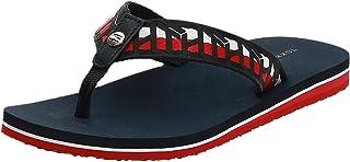 Tommy Hilfiger TH WEBBING FLAT BEACH SANDAL Women's Fashion Sandals