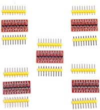 Cylewet 5Pcs 8 Channel Logic Level Converter Bi-Directional 3.3V to 5V TTL Shifter Module for Arduino (Pack of 5) CYT1082