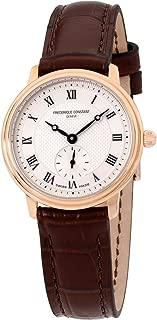 Frederique Constant Slimline Ladies Small Seconds Quartz Watch FC-235M1S4