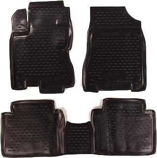 Gummimatten für Renault Fluence ab Bj 2010 Automatten Gummi-Fußmatten schwarz