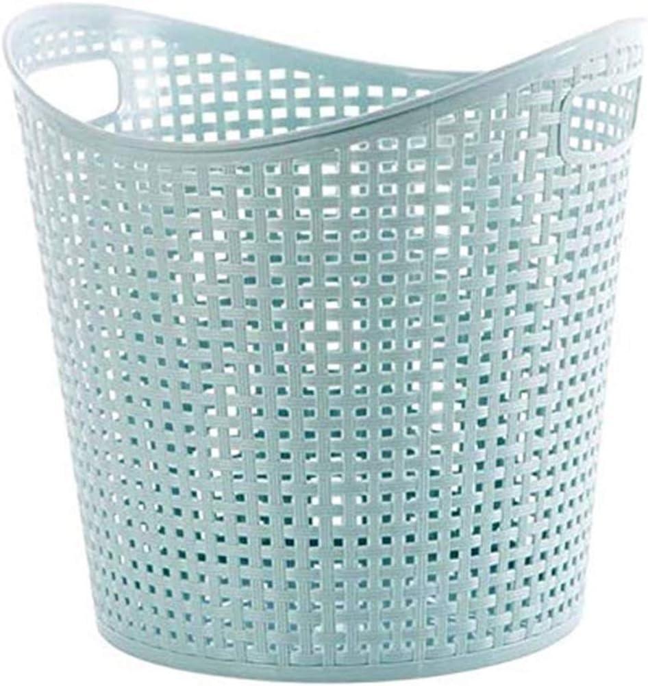 DSWHM Storage Baskets Fashion Hollow Laundry Basket Design depot Hamp