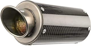 Hotbodies Racing 15-16 Suzuki GSX-S750 MGP Growler Slip-On Exhaust (Carbon Fiber with Rolled Tip)