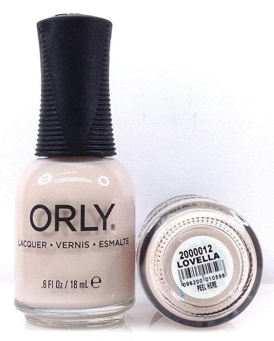 幾何学フラッシュのように素早くセンターOrly Nail Lacquer - Radical Optimism 2019 Collection - Lovella - 0.6 oz / 18 mL