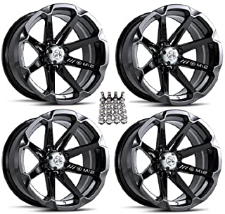 "Best MSA M12 Diesel ATV Wheels/Rims Black 14"" Sportsman RZR Ranger Review"