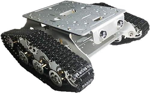B Blesiya TSD300 RC WiFi Smart Panzer Plattform Panzer Chassis Car Kit, einfach instaliert - Silber
