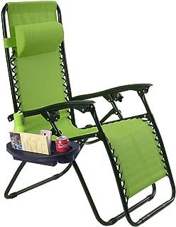 green zero gravity chair