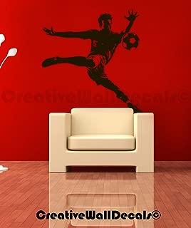 CreativeWallDecals Vinyl Wall Decal Sticker Football...