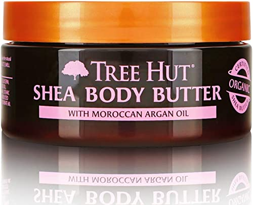 Tree Hut 24 Hour Intense Hydrating Shea Body Butter Moroccan Rose, 7oz, Hydrating Moisturizer with Pure Shea Butter f...