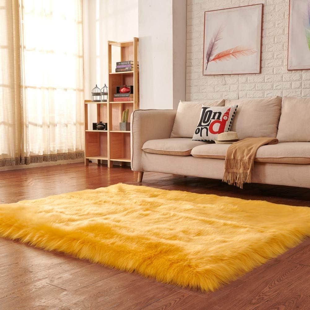 Max 72% OFF Super Soft Faux Max 54% OFF Fur Rug Area Fluffy Shaggy Anti-Skid Modern