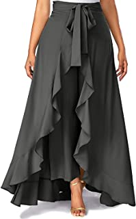 SBJ COLLECTIONS Girls Maxi Overlay Pant Skirt