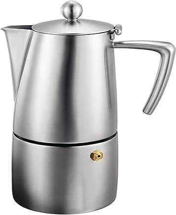 Cuisinox Stainless Steel Milano 10-Cup Espresso Coffeemaker