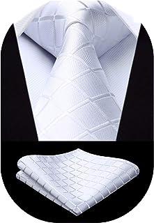 MERCHANDMANIA Corbata Elegante Logo Partido VOX Derecha Suave Poliester