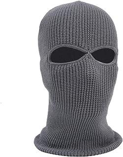 ユニセックス サーマルハット ライナー スカルキャップ ビーニー 耳カバー付き 究極のヘルメット 2穴