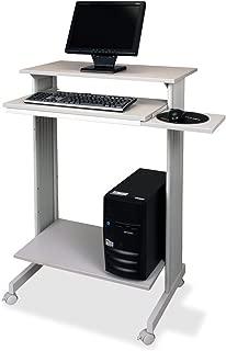 Sandusky BUDDY 6438-18 Stand UP Fixed Height Workstation - Grey