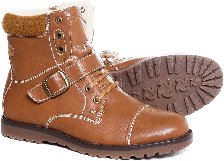 Clowse Herren Kunstleder Stiefel Stiefel Halbstiefel Stiefeletten Stiefeletten Stiefeletten Schnür Schuhe 5M103  3b0add