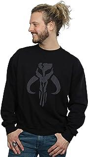Star Wars Men's The Mandalorian Banther Skull Sweatshirt