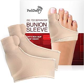 Bunion Corrector Bunion Relief Orthopedic Hallux Valgus Splint Gel Toe Separator for Realignment Cushioned Bunion Pad Splint Brace for Men and Women (Small)