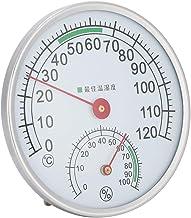 Jeffergarden Sauna Termómetro Colgante de Pared Temperatura Humedad Medidor Sauna Habitación Herramienta de medición
