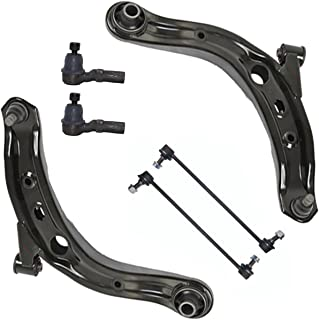 Left Complete Control Arm /& Ball Joint Assembly 10-Year Warranty for 2000-06 Mazda MPV Detroit Axle Lower Brand New Front